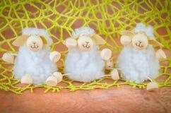 Décoration de jouet de moutons Images libres de droits