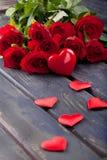 Décoration de jour de valentines Images libres de droits