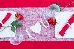 Décoration de jour de valentines Photos libres de droits