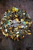 Décoration de Joyeux Noël Image stock