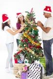 Décoration de l'arbre de Noël Image stock