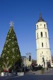 décoration de l'arbre de Noël Photos stock