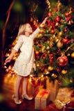 Décoration de l'arbre de Noël photographie stock libre de droits
