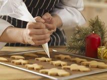 Décoration de l'homme de pain de gingembre Image stock