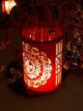 Décoration de lanterne pendant la nouvelle année chinoise Photo stock