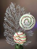 Décoration de lollypop de Noël Images libres de droits