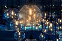 Décoration de luxe d'éclairage Photo stock