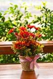 Fleurs artificielles. Images libres de droits