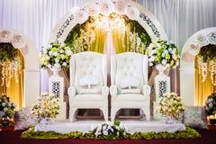 Décoration de mariage Image stock