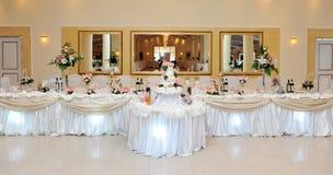 Décoration de mariage Photos stock