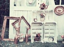 Décoration de mariage de vintage Image libre de droits