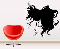 décoration de mur Photographie stock libre de droits