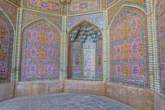 Décoration de Nasir al-Mulk Mosque Photographie stock