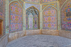 Décoration de Nasir al-Mulk Mosque Photo stock