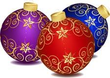 Décoration de Noël. illustration stock