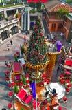 Décoration de Noël au composé 1881 à Hong Kong Images libres de droits