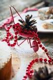 Décoration de Noël au Tableau Image libre de droits