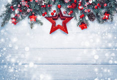 Décoration de Noël avec l'étoile Image stock
