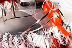 Décoration de Noël avec le cadre de cadeau Photo stock