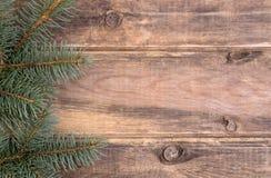 Décoration de Noël avec le sapin Photo stock