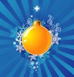 Décoration de Noël/concept/vecteur de fond Image libre de droits