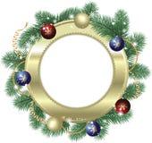 Décoration de Noël d'art Images libres de droits