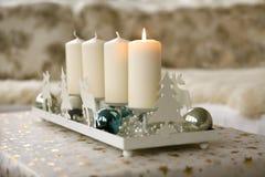 Décoration de Noël d'avènement Photo stock