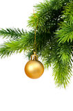 Décoration de Noël d'isolement Photos libres de droits