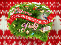 Décoration de Noël de nouvelle année ENV 10 Photographie stock libre de droits