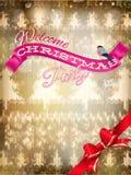 Décoration de Noël de nouvelle année ENV 10 Photo stock