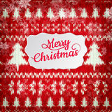 Décoration de Noël de nouvelle année ENV 10 Image libre de droits