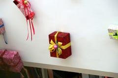 Décoration de Noël des modèles de centre commercial des cadeaux Image stock