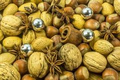 Décoration de Noël de différentes variétés Photo stock