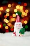 Décoration de Noël du père noël Photos libres de droits