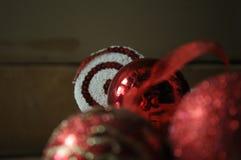 Décoration de Noël en composition abstraite photo stock