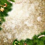 Décoration de Noël ENV 10 Photo libre de droits