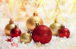 Décoration de Noël An neuf Photo stock