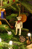 Décoration de Noël Noël ma version de vecteur d'arbre de portefeuille Image stock