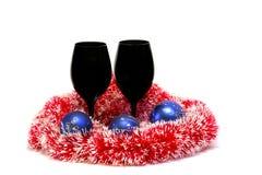 Décoration de Noël/nouvelle année Image libre de droits