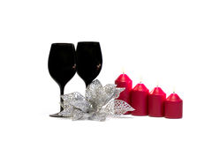 Décoration de Noël/nouvelle année Photos stock