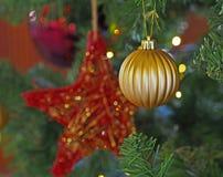 Décoration de Noël pendant l'année 2017 Image stock