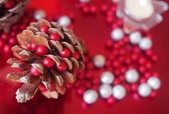 Décoration de Noël pendant l'année 2017 Images stock