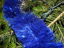 Décoration de Noël sur l'arbre de Noël Photo stock