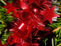Décoration de Noël sur l'arbre de Noël Photo libre de droits
