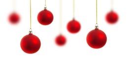 Décoration de Noël sur le blanc Photos libres de droits