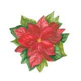 Décoration de Noël sur le blanc illustration stock
