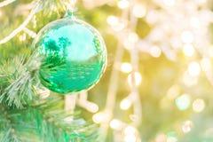 Décoration de Noël sur le fond abstrait pour des thèmes de Noël Photo libre de droits
