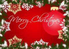 Décoration de Noël. Vecteur Image stock