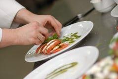 Décoration de nourriture Images stock