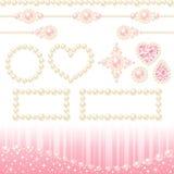 Décoration de perle Photographie stock